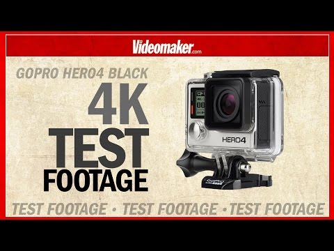 GoPro HERO4 Black 4K - Test Footage in 4K