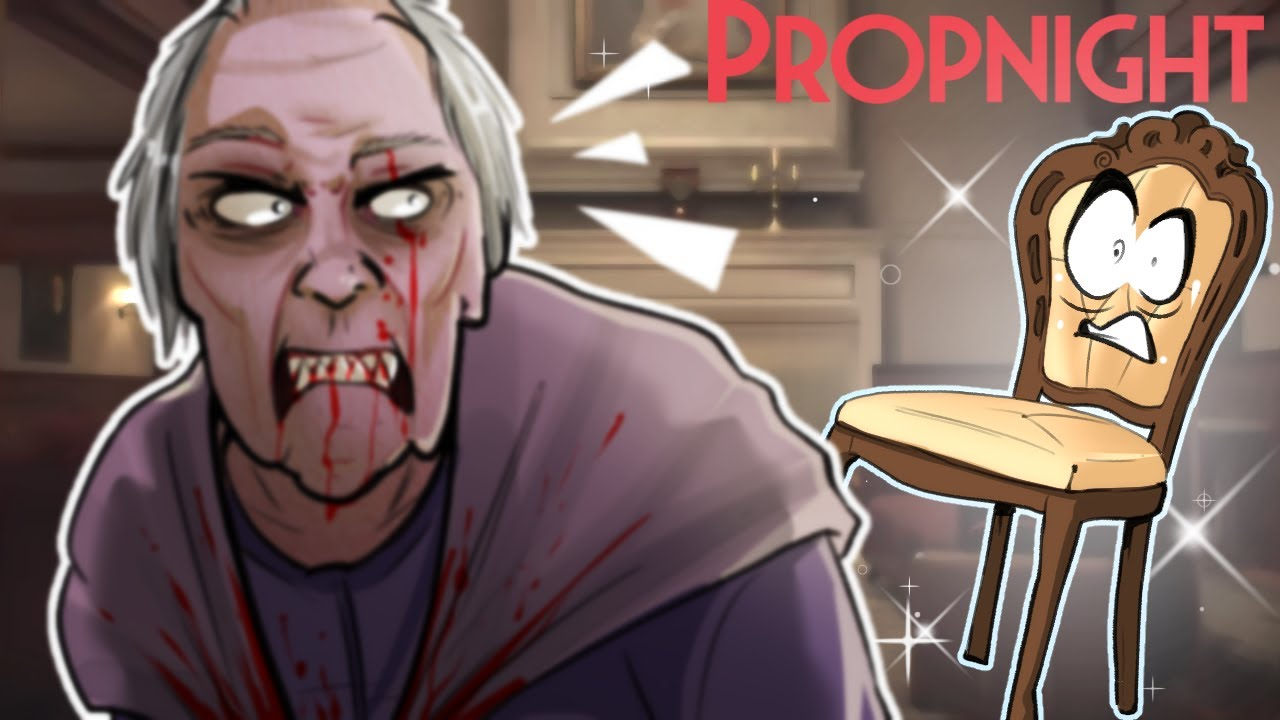 Granny's NEW House Map – DBD PropHunt – PropNight Gameplay!