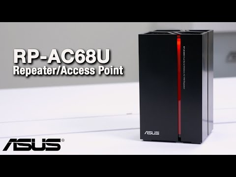 RP-AC68U Wireless-AC1900 Range Extender/Media Bridge Overview - UChSWQIeSsJkacsJyYjPNTFw