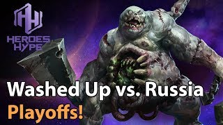 ► Heroes of the Storm: Washed Up vs. Team Russia - HeroesHype Playoffs,