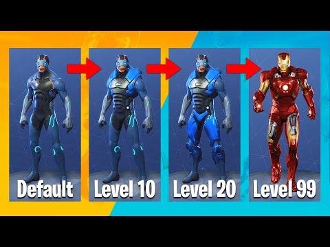 fortnite season 4 iron man evolution upgrades fortnite battle royale fpvracer lt - iron man concept fortnite