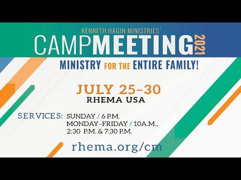 07.26.21  Campmeeting  Mon 10am  Rev. Charles Cowan