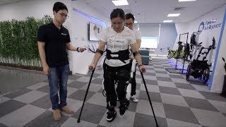 Chinese startup develops robots to help patients walk again