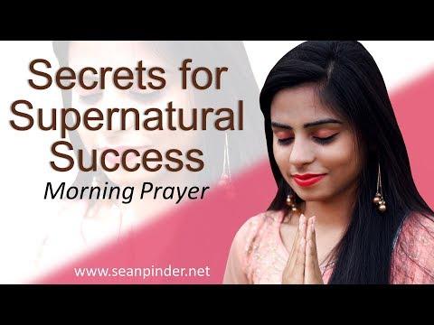 PSALM 1 - SECRETS FOR SUPERNATURAL SUCCESS - MORNING PRAYER (video)