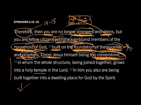 Ephesians 2:1922 // Part 1 // Gentiles Are Full Citizens of Israel