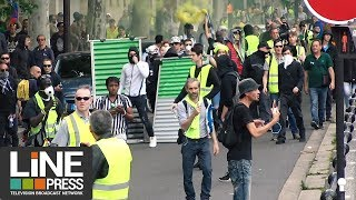 Gilets jaunes Acte 31 - Quelques tensions / Paris - France 15 juin 2019