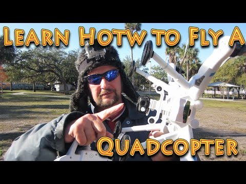 How to Fly a Drone Quadcopter - Basic Tutorial - UC18kdQSMwpr81ZYR-QRNiDg