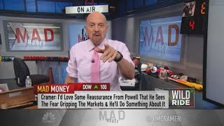 Cramer: Expect more volatility until the bond market finds some stability