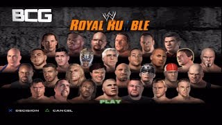 WWE Smackdown Here Comes The Pain 30 Man Royal Rumble