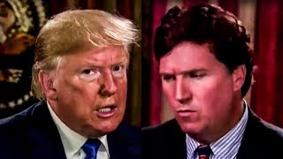 Trump Manages To Spew Gibberish At Tucker Carlson For 2 Straight Minutes