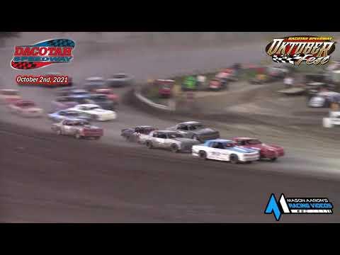 Dacotah Speedway Hobby Stock A-Main (Oktoberfest) (10/2/21) - dirt track racing video image
