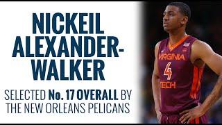 Pelicans select Nickeil Alexander-Walker No. 17 overall