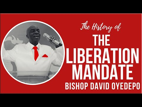 Bishop Oyedepo  The History Of The Liberation Mandate Throwback Video