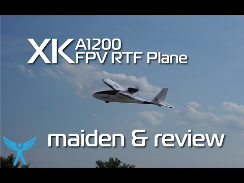 XK A1200 FPV RTF EPO Plane - maiden flight and review - UCG_c0DGOOGHrEu3TO1Hl3AA