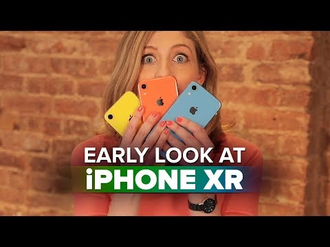 iPhone XR hands-on: An early look at Apple's colorful phones - UCOmcA3f_RrH6b9NmcNa4tdg