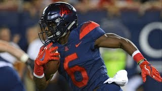 The Shiftiest WR In The PAC-12 | Shun Brown Arizona Highlights 2017-2018