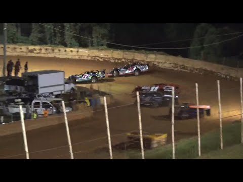 Limited Late Model at Winder Barrow Speedway August 28th 2021 - dirt track racing video image