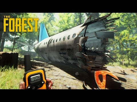 SURVIVE A PLANE CRASH!! (The Forest) - UC2wKfjlioOCLP4xQMOWNcgg