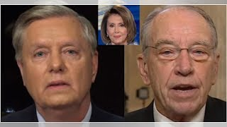Grassley, Graham Build Wall To Protect Trump, End Nancy Pelosi's Latest Attack On POTUS