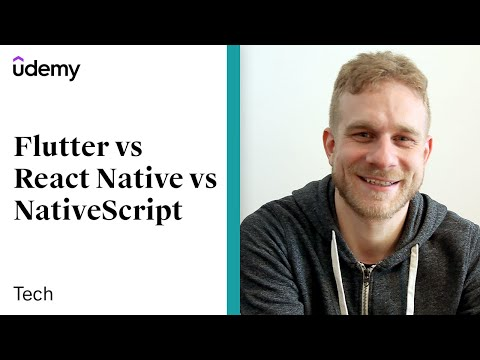 Flutter vs React Native vs NativeScript vs Ionic vs PWAs | Maximilian Schwarzmüller, Udemy - UCzw4hbQIePVtyJQzE_F8QDg
