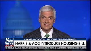 McIntosh Discusses Harris/AOC & CFG Freshman Democrat Analysis on Fox & Friends First