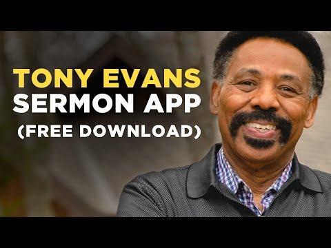 Download the Free Tony Evans Sermon App