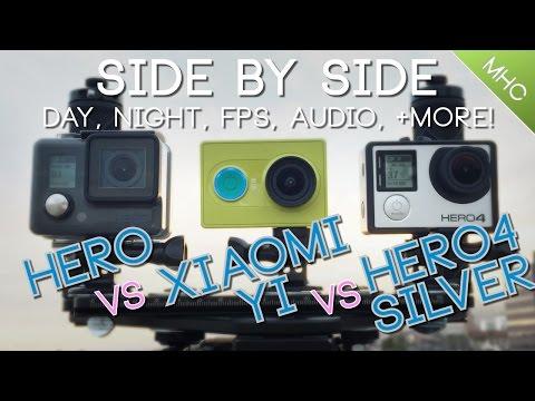 GoPro 4 Vs Xiaomi Yi Vs Amkov 5000 Vs BlackView Hero 2   FpvRacer lt