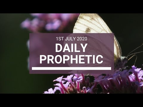 Daily Prophetic 1 July 2020 8 of 10