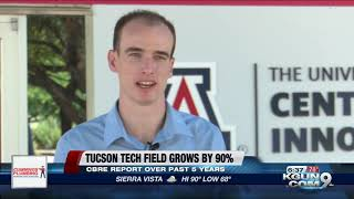New Report: Tucson sees tech industry grow by 90%