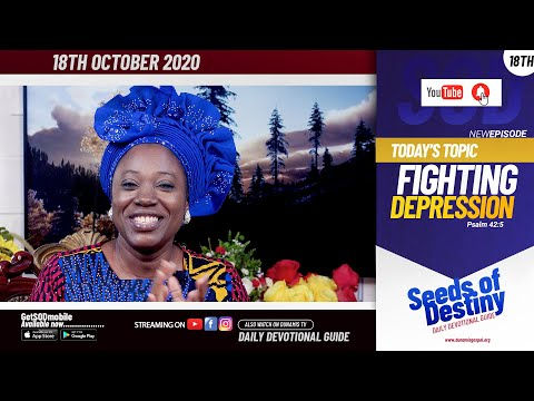 Dr Becky Paul-Enenche - SEEDS OF DESTINY - SUNDAY OCTOBER 18 , 2020
