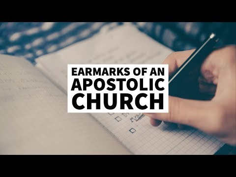 Earmarks of a Marketplace Apostle  School of the Apostles