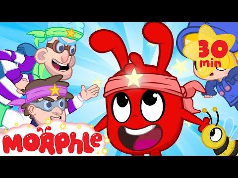Ninja Morphle! - My Magic Pet Morphle | Cartoons For Kids | Morphle TV | BRAND NEW