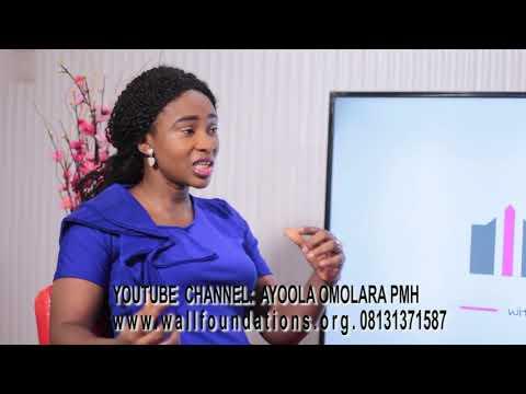 WALL FOUNDATION SHOW with Omolara Ayoola.