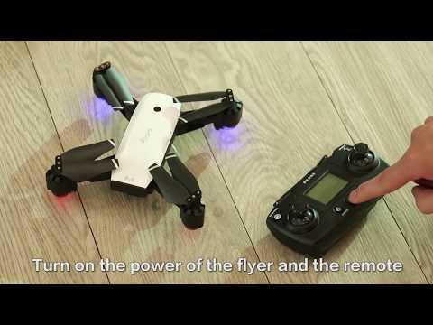 SMRC S20 RC Drone Foldable Quadcopter with WIFI 720P/1080P HD Camera FPV GPS Operational video - UCpmmtixs2eadabJgU1YZg6w