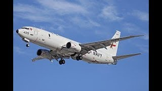 Boeing shows flying hunter for Russian submarines Poseidon P-8A