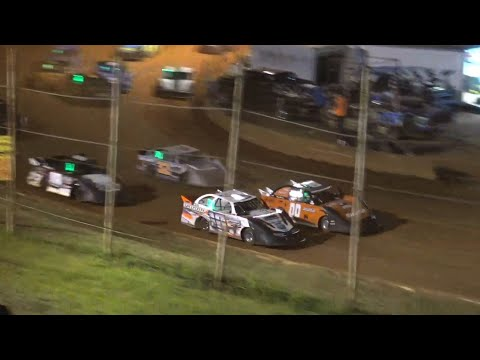 Sharp Mini Late Models at Winder Barrow Speedway August 14th 2021 - dirt track racing video image