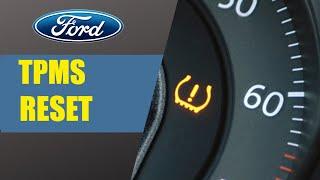 Reset pneumatici TMPS Ford FOCUS 4
