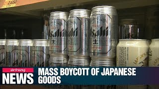 S. Koreans boycott Japanese goods spread amid escalating trade tensions