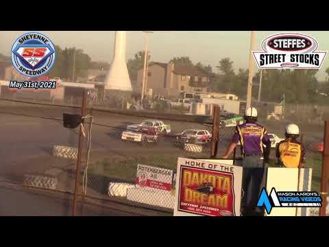 Sheyenne Speedway WISSOTA Street Stock A-Main (5/31/21) - dirt track racing video image