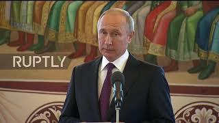 Russia: Putin takes Xi on tour of Moscow's Kremlin