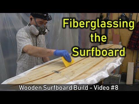 How to Make a Wooden Surfboard #08: Fiberglassing the Surfboard - UCAn_HKnYFSombNl-Y-LjwyA