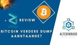 Altcoinbase: Bitcoin, verdere dump aanstaande? + ZIlliqa analyse!