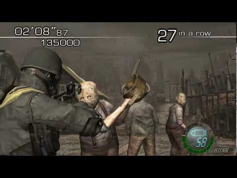 Resident Evil 4 - The Mercenaries (Welcome To Hell) Mode - Village - HUNK (699.000) HQ - UCSt3z8QhyJD0OZOQq6WQVHg