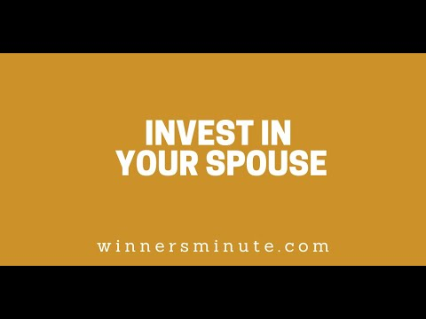 Invest in Your Spouse // The Winner's Minute With Mac Hammond