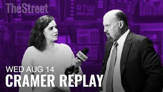 Jim Cramer on WeWork, Macy's and the Inverted Yield Curve