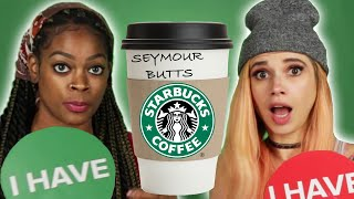 Starbucks Employees Play Never Have I Ever