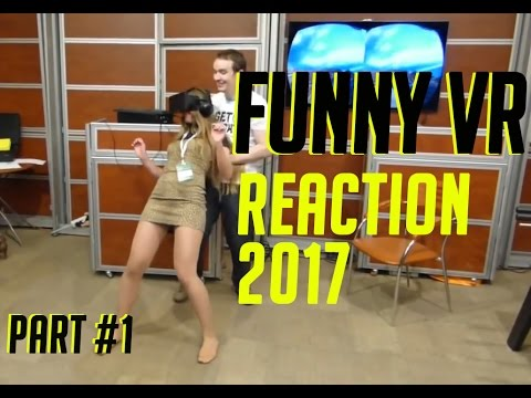 FUNNY VIRTUAL REALITY REACTION COMPILATIONS PSVR FUNNY VR REACTIONS - UCeaEfGFzvguYyHWObwNifUA