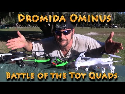 Battle of The Toy Quads: Dromida Ominus vs UDI U818a vs Syma X5C-1 - UC18kdQSMwpr81ZYR-QRNiDg