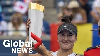 Bianca Andreescu's rise to Canadian tennis royalty
