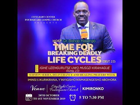 FOURSQUARE TV - IGIHE UZENGURUTSE UWO MUSOZI KIRAHAGIJE HAMWE NA Bishop  Dr . Fidele  MASENGO - I